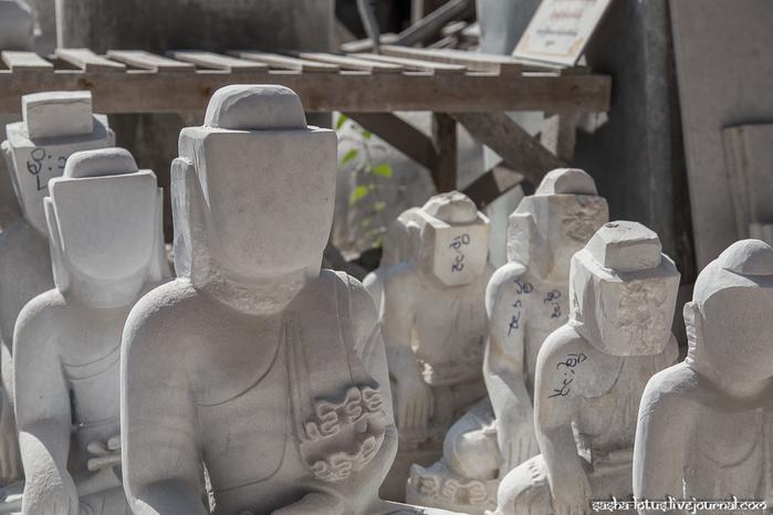 как делают буддийские статуи 5 (700x466, 276Kb)