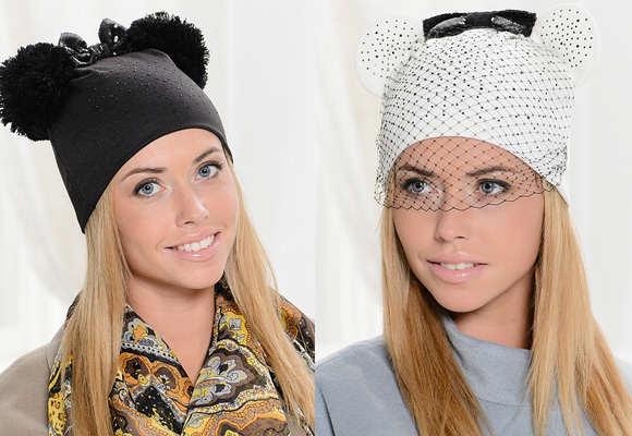 Модные шапки осень-зима 2017 фото своими руками