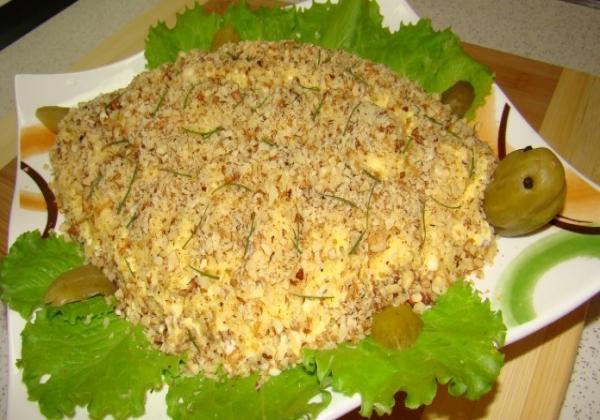 Кулинарные рецепты с фотографиями салат черепаха