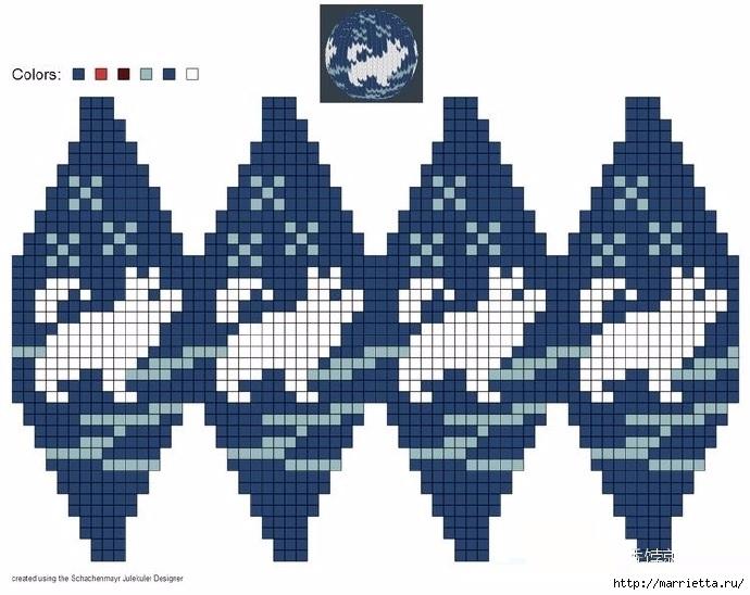 Елочные игрушки спицами. Схемы вязания (12) (690x548, 208Kb)