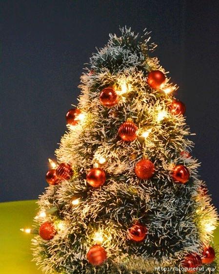 декоративная новогодняя елочка