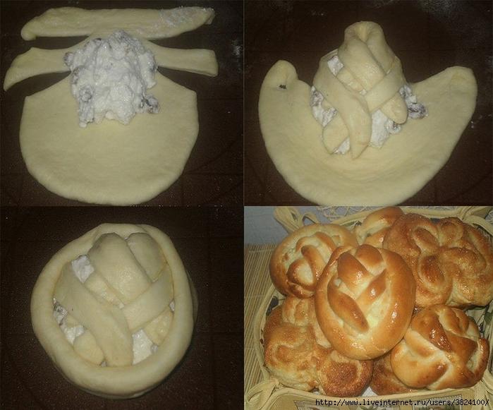 Как сделать тесто на булочки с фото 835