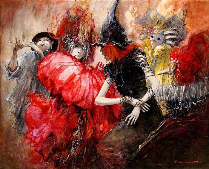 Марсель Нино Пажо картины 1 (700x568, 592Kb)