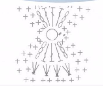 Бантики крючком для украшения одежды (2) (354x294, 52Kb)
