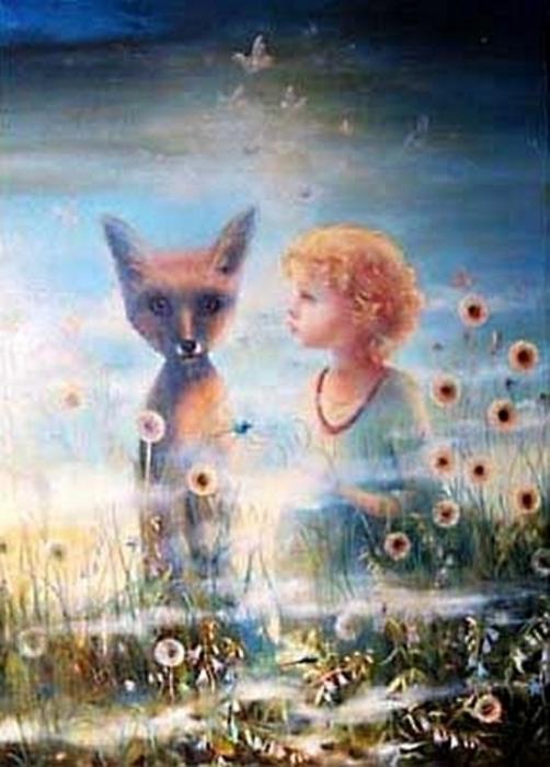 Маленький принц  минской художницы Ольги Стефанович (502x700, 320Kb)