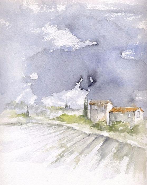 Italian Farmhouse (557x700, 350Kb)
