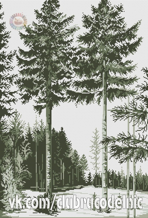 Trees graphics (474x700, 421Kb)