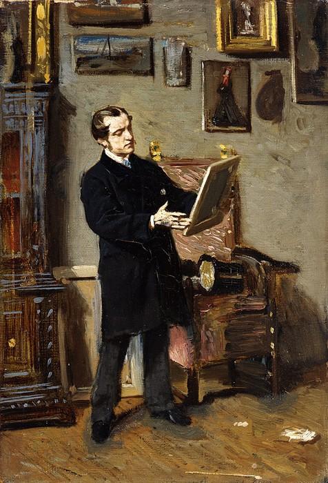 «Любитель искусства» (ок. 1866) (476x700, 132Kb)