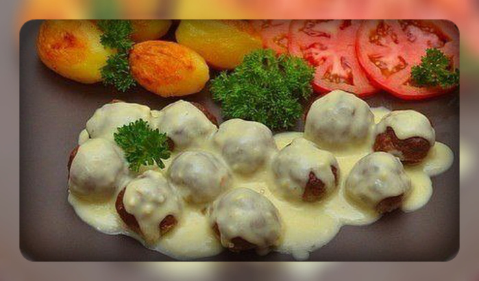 Мясные шарики под сливочным соусом (700x410, 124Kb)