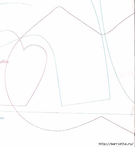 Шьем петушков и курочек. Много идей и выкроек (42) (468x512, 59Kb)