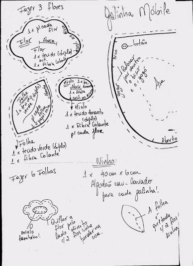 Шьем петушков и курочек. Много идей и выкроек (71) (388x534, 122Kb)
