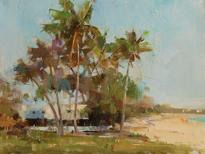 Coconut trees in Abaco (660x497, 406Kb)