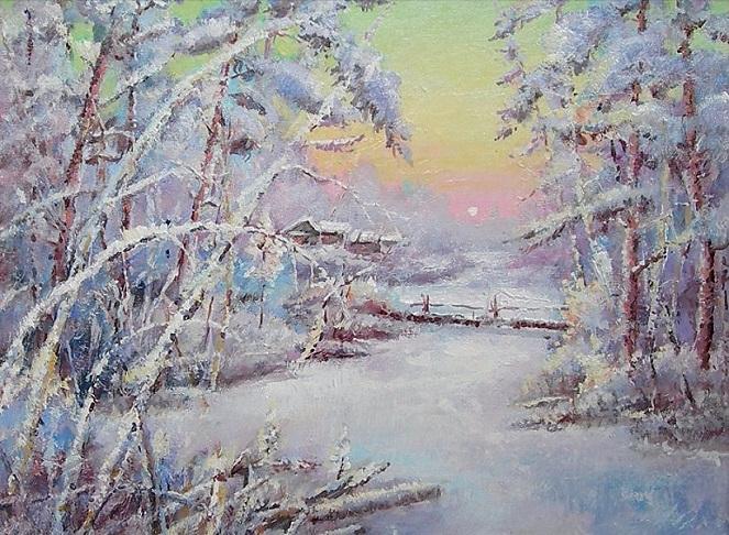 Короток зимний день (663x486, 437Kb)