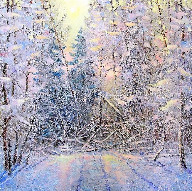 Морозный день (654x649, 746Kb)