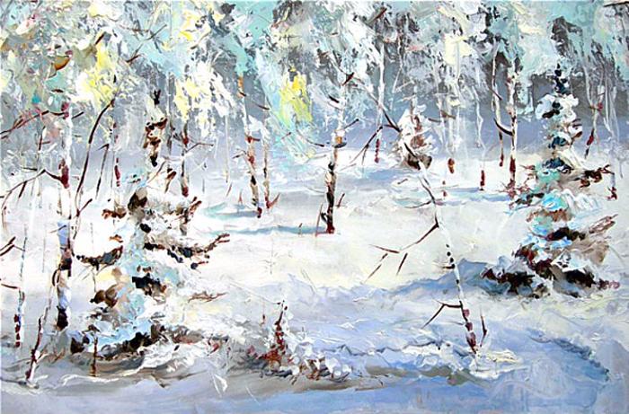 Пушистая зима (700x461, 482Kb)