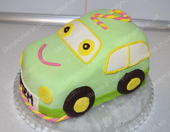 Торт машинка своими руками без мастики пошагово 168