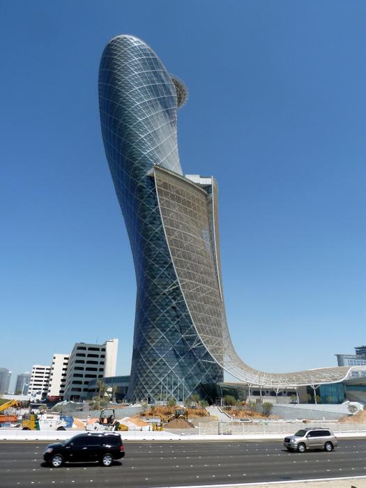 Падающий небоскреб Capital Gate в Абу Даби 3 (525x700, 393Kb)