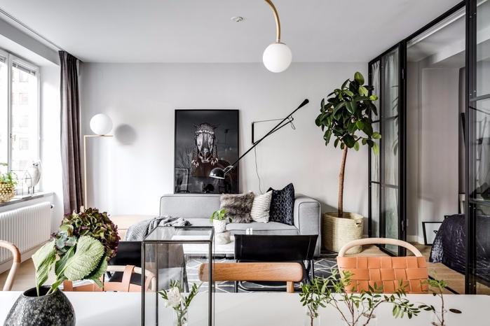 современный дизайн квартиры-студии 2 (700x466, 265Kb)