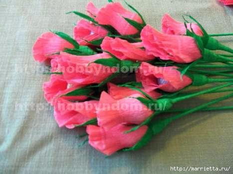 Букеты из конфет. Бутоны роз (17) (467x350, 89Kb)