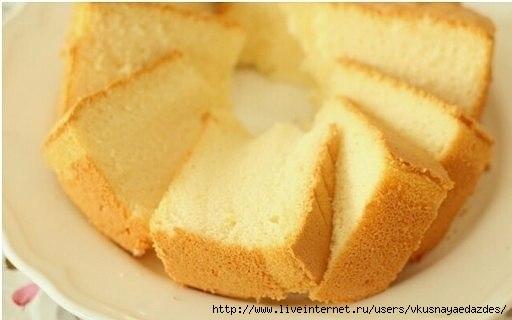 как приготовить бисквит не менее 2-3 яиц