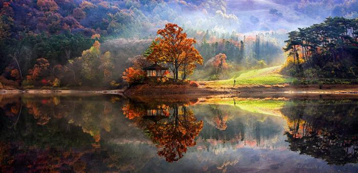 зеркальные пейзажи 1 (700x339, 352Kb)