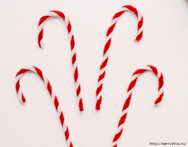 Посох деда Мороза. Украшаем новогоднюю елочку подвесками (6) (613x479, 132Kb)