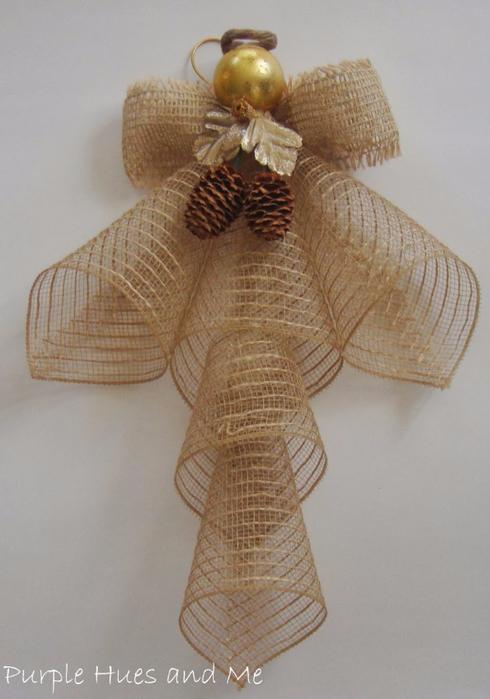 Ангел из ленты-сетки(490x700, 291Kb)