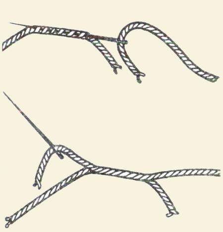Вязание спицами соединить нить при вязании 136