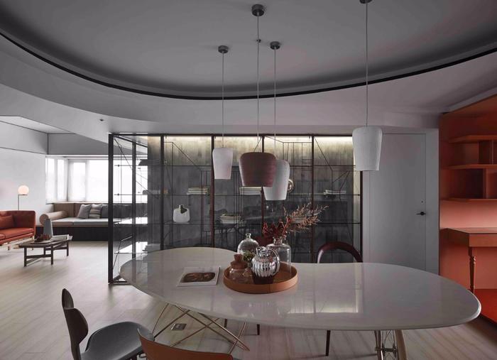 красивый дизайн современной квартиры 2 (700x507, 268Kb)