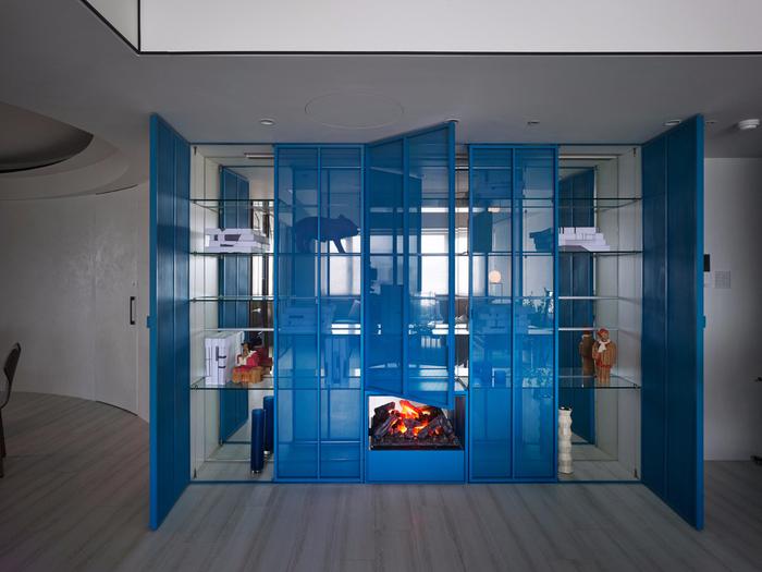 красивый дизайн современной квартиры 4 (700x525, 349Kb)