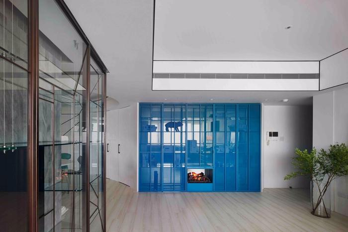 красивый дизайн современной квартиры 6 (700x466, 268Kb)
