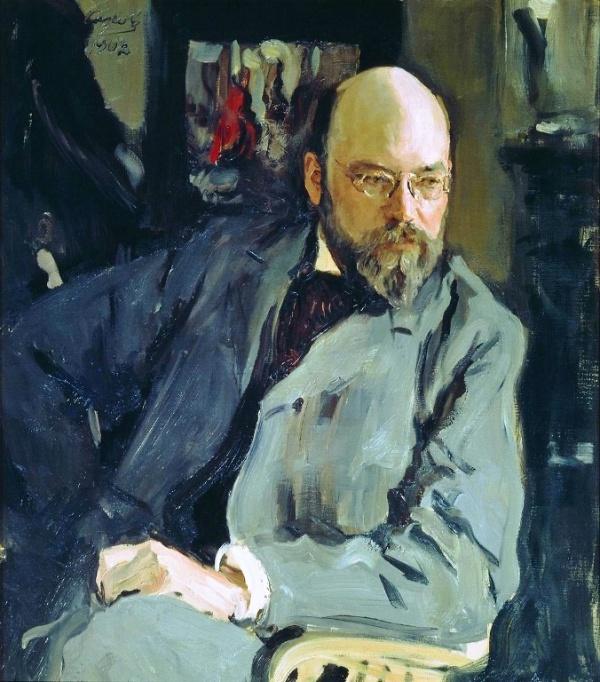 001_Валентин Серов _Portrait_of_the_Artist_Ilya_Ostroukhov1 (600x682, 393Kb)
