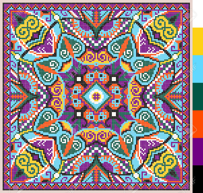 37266394-geometric-square-pattern-for-cross-stitch-ukrainian-traditional--Stock-Photo (700x663, 979Kb)