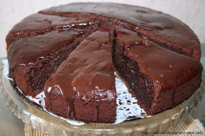 Супер влажный шоколадный пирог рецепт фото