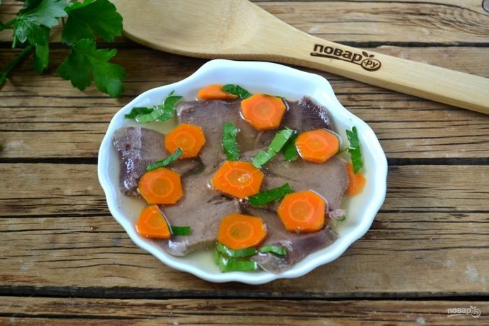 Заливное из свинины пошаговый рецепт с фото