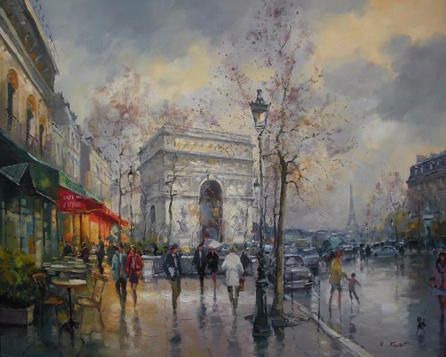 Arc de Triomphe - PARIS (643x515, 372Kb)