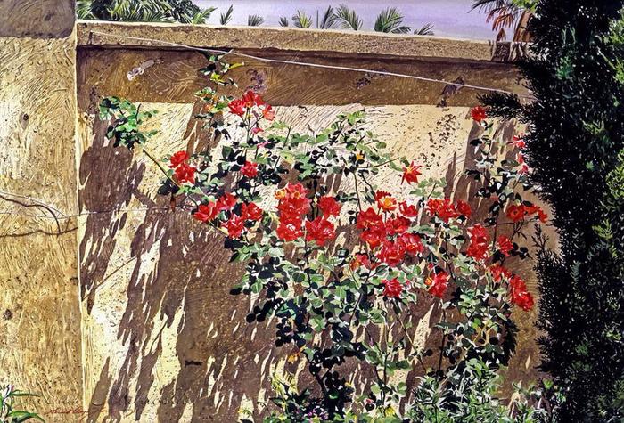 Акварельные пейзажи от David Lloyd Glover8 (700x475, 535Kb)