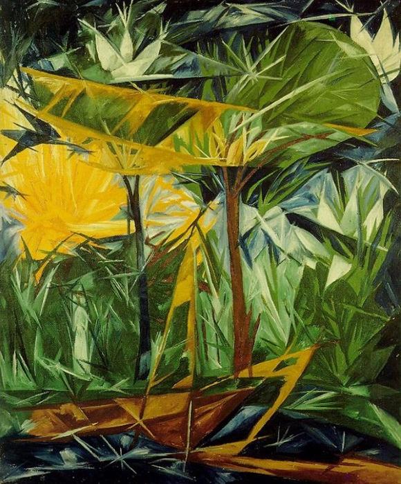 Жёлтый и зелёный лес (580x700, 546Kb)