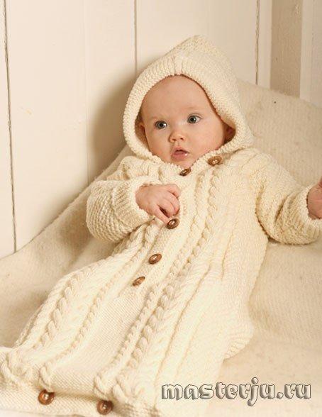 устный конверты вязание для новорожденных какой