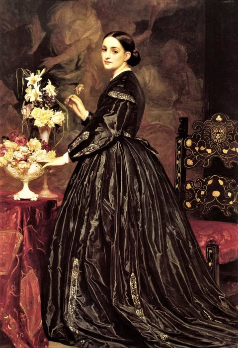 Frederick Leighton  Mrs. Ellinor Guthrie (479x700, 117Kb)