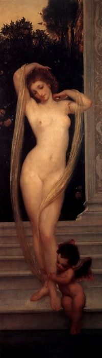 Frederick Leighton -  A Bather (200x700, 33Kb)