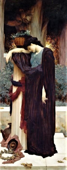 Плач (Lachrymae)   1894-1895   157.5 х 62.9 х.,м.  Нью-Йорк, музей Метрополитен (276x700, 60Kb)