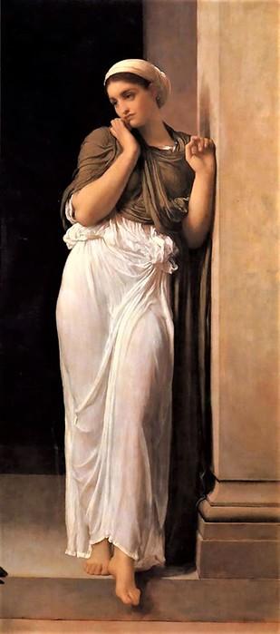 Frederick Leighton  Nausicaa   1879 (309x700, 46Kb)