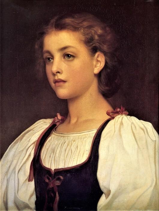 Блондинка ( Biondina)  1879     52 х 41  Гамбург, Галерея искусств (530x700, 100Kb)