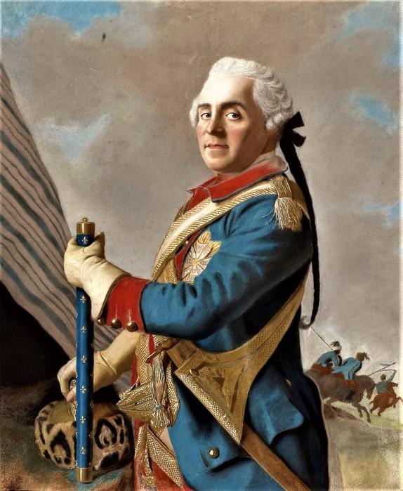 Граф Герман Мориц Саксонский,маршал Франции       1748      62 х 51   пергамент, пастель   Амстердам, Рейксмузеум (574x700, 121Kb)
