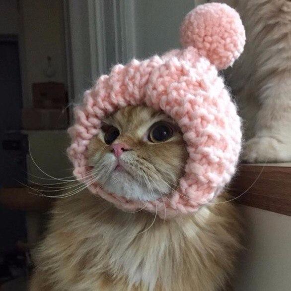Оставаться красивой в зимней шапке - высшее (586x587, 250Kb)