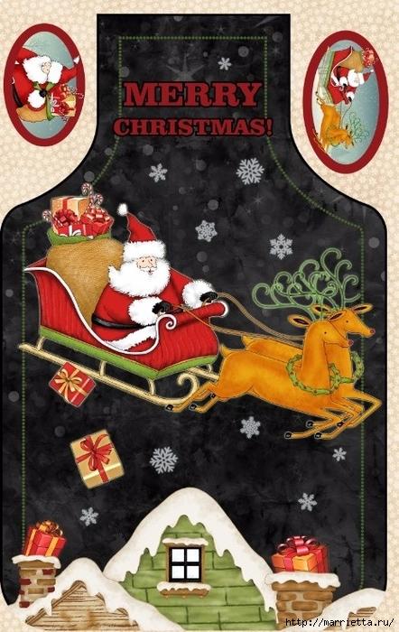 Картинки для декупажа. Новогодняя и рождественская тематика (3) (442x700, 284Kb)