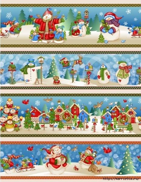 Картинки для декупажа. Новогодняя и рождественская тематика (11) (466x602, 270Kb)