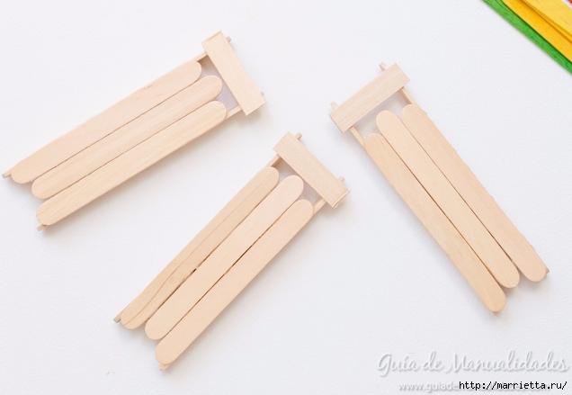 Саночки из деревянных палочек от мороженого (7) (636x439, 127Kb)