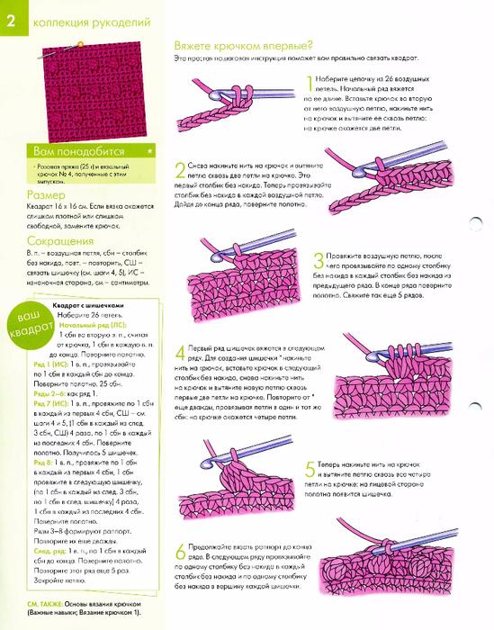Запись рукоделие вязание